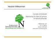 Herzlich Willkommen - Bundesverband Naturkost Naturwaren (BNN)