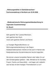Lothar Busch - Niedersächsische ... - bei der NBank