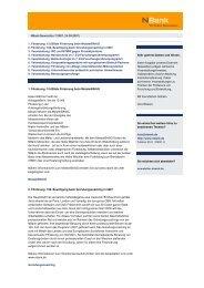 NBank Newsletter 2007/07 - bei der NBank