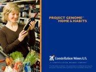 Project Genome Wine Consumer Research