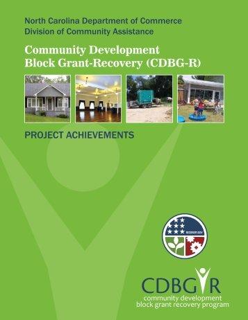 CDBG R - Department of Commerce