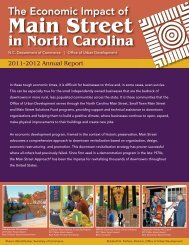 2011-12 Main Street Annual Report - Department of Commerce