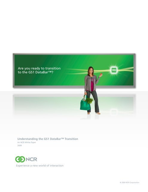 Understanding the GS1 DataBar Transition, an NCR White Paper