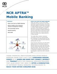 NCR Mobile Banking White Paper