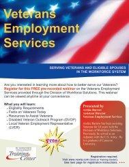 Veterans Employment Services