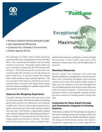 Exceptional Maximum - NCR