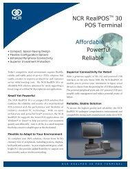 NCR Mainstream POS Terminal