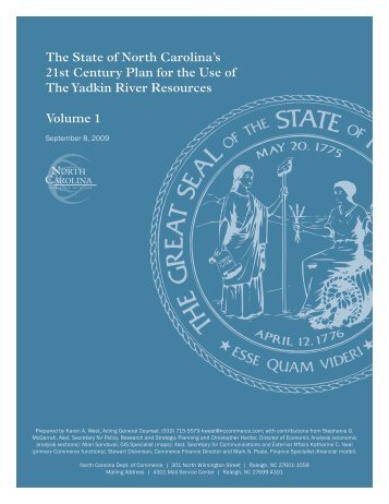 21st Century Plan - Department of Commerce