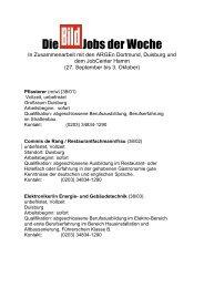 Die Jobs der Woche - Bild.de