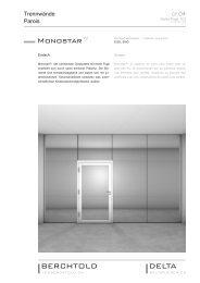 Monostar™ - Jos. Berchtold AG