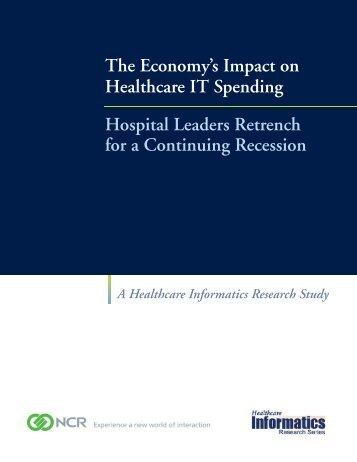 The Economy's Impact on Healthcare IT Spending - NCR