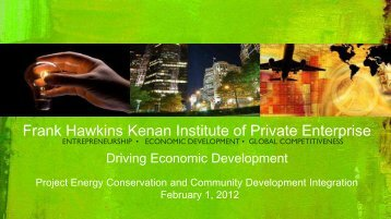 Driving Economic Development