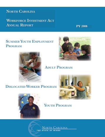 WIA Annual Report - Department of Commerce