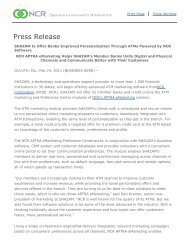 NCR Corporation - Investor Relations - Press Release