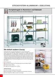 STECKSYSTEM ALUMINIUM + EDELSTAHL Die ... - Nelke GmbH