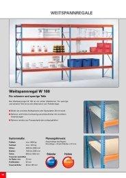 WEITSPANNREGALE - Nelke GmbH