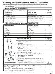 Beurteilung von Lastenhandhabungen anhand von ...  - Nelke GmbH