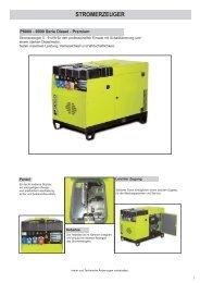 Stromerzeuger P9000_Diesel.qxd - Nelke GmbH