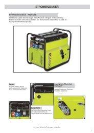 Stromerzeuger P4500_Diesel.qxd - Nelke GmbH