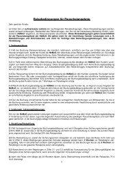 Buchungs- und Zahlungsbedingungen - Nesselwang