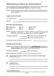 Bedarfsabfrage Fragebogen - Nesselwangen