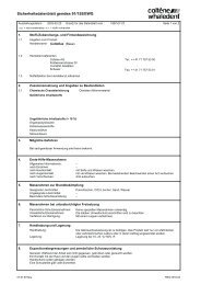 Sicherheitsdatenblatt gemäss 91/155/EWG - NETdental
