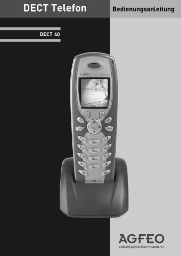 AGFEO DECT 40 Anleitung - NetKom GmbH