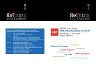 IBM Mittelstandstag Nord-Ost - Netzlink Informationstechnik GmbH