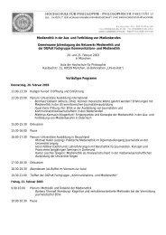 Programm 2003 - Netzwerk Medienethik