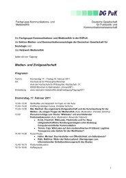 Programm (*.pdf) - Netzwerk Medienethik
