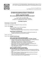 Programm 2004 - Netzwerk Medienethik