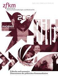 Zeitschrift für Kommunikationsökologie und Medienethik 2008