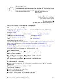 Wettbewerbsbekanntmachung - Neubighubacher.de