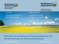Vortrag des Landesamtes für Umwelt, Naturschutz und Geologie