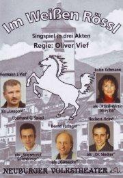 Flyer kostenlos zum Download - Neuburger Volkstheater