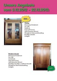 Unsere Angebote vom 3.12.2012  - 22.12.2012: - Neue Arbeit Vogelsberg