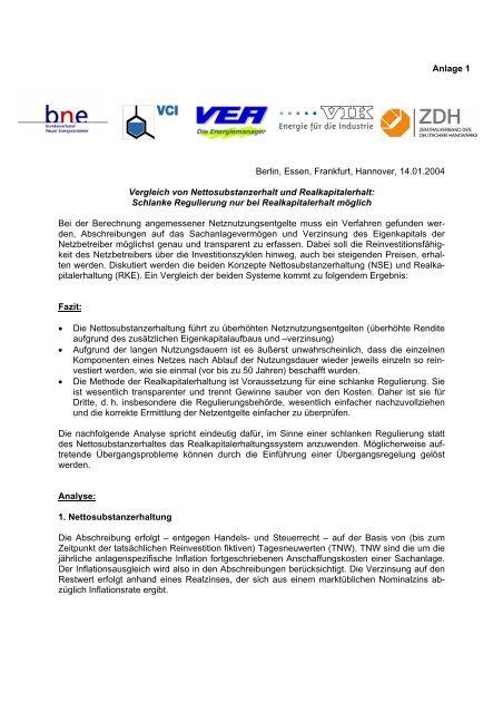 Schlanke Regulierung nur - Bundesverband Neuer Energieanbieter