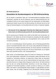 BNE (pdf/194 KB ) - Bundesnetzagentur