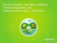 Vortrag Dieter Ploch, eprimo GmbH - Bundesverband Neuer ...