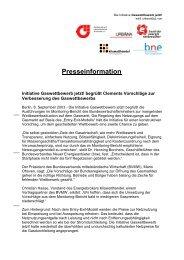 Presseinformation - Bundesverband Neuer Energieanbieter
