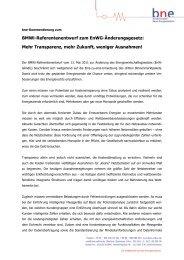 Kurzfassung der Synopse zum download - Bundesverband Neuer ...