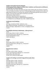 Ländliche Heimvolkshochschule Hohebuch ... - Stadt Neuenstein