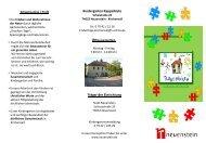 Kindergarten Rappelkiste - Stadt Neuenstein
