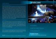 Flyer - Keller Laser