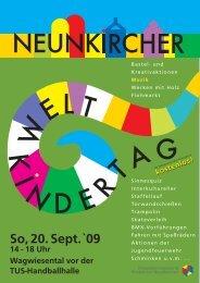 K I NDER TAG W EL  T - Neunkirchen