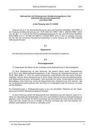 Satzung über die Erhebung einer Zweitwohnungssteuer - Gemeinde ...