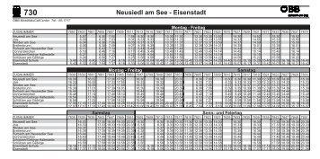 Neusiedl am See - Eisenstadt - Neusiedler See