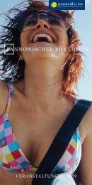 PANNONISCHER RHYTHMUS - Neusiedler See