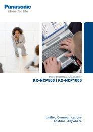 KX-NCP500 | KX-NCP1000