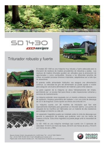 SD 1430 - neuson ecotec gmbh.